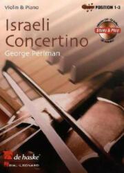 ISRAELI CONCERTINO (ISBN: 9789043127103)