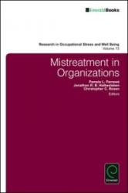 Mistreatment in Organizations (2015)