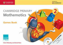 Cambridge Primary Mathematics Stage 2 Games Book with CD-ROM (2014)