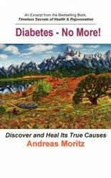 Diabetes - No More! (ISBN: 9780976794462)
