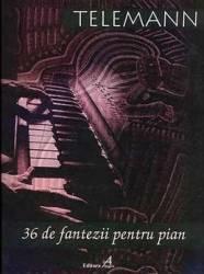 36 Fantezii Pentru Pian - Telemann (ISBN: 9790707650745)