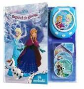 Disney Regatul de gheață. Poveste muzicală (carte + miniCD + CD player) 18 melodii (ISBN: 9786067418255)