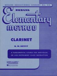 RUBANK ELEMENTARY METHOD - N. W. Hovey (ISBN: 9781423444787)