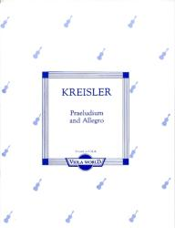 PRAELUDIUM AND ALLEGRO FOR VIOLA AND PIANO (ISBN: 9786330213983)