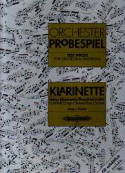 ORCHESTER-PROBESPIEL FÜR KLARINETTE (ISBN: 9786390234119)