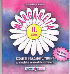 Margaréta - szolfézs feladatgyűjtemény 2 (ISBN: 9780801650994)