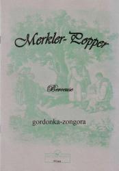 BERCEUSE GORDONKÁRA ÉS ZONGORÁRA (POPPER DÁVID), REPRINT KIADÁS (ISBN: 9786340248821)
