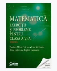 MATEMATICĂ - Exerciții și probleme pentru clasa a VI-a - Semestrul I (ISBN: 9786068668802)