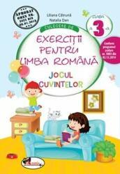 Culegere de exerciții pentru limba română Jocul cuvintelor Clasa a III-a (ISBN: 9786067062199)