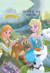 Disney. Poveşti şi jocuri din Regatul de gheaţă. Un pui de ren simpatic (ISBN: 9786063301834)