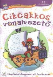 Óvodások akadémiája. Cikcakkos vonalvezető 5-6 éveseknek (ISBN: 9786155335754)