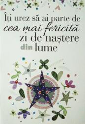 Iti urez sa ai parte de cea mai fericita zi de nastere din lume (ISBN: 9786068290447)