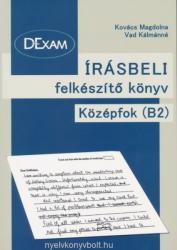 DExam Írásbeli felkészítő könyv középfok B2 (ISBN: 9789634738381)