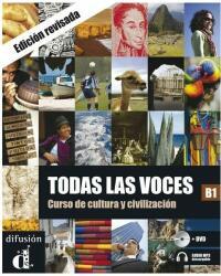 Todas las voces B1 - Libro del alumno (ISBN: 9788484437222)