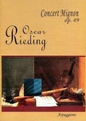 Concert Mignon Op. 49 - O. rieding (ISBN: 9790707650189)