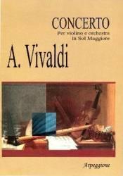 Concerto Per Violino E Orchestra In Sol Maggiore - A. Vivaldi (ISBN: 9790707650202)