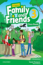 Family and Friends: Level 3: Class Book with Student MultiROM - N. Simmons (2014)