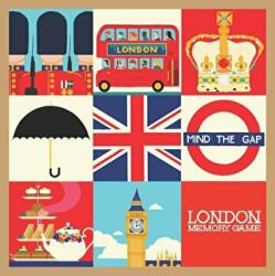 London Memory Game (ISBN: 9781623260439)