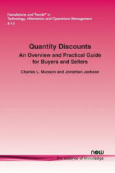 Quantity Discounts - An Overview and Practical Guide for Buyers and Sellers (ISBN: 9781601988881)