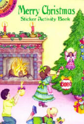 Merry Christmas Sticker Activity Book (ISBN: 9780486409863)