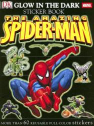 Ultimate Sticker Book: Glow in the Dark: Spider-Man (ISBN: 9780756619992)