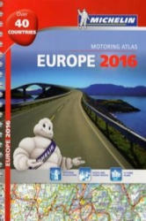 Michelin Europe 2016 Atlas (ISBN: 9782067209510)