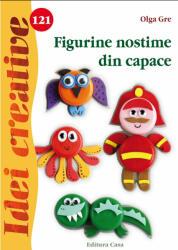 Figurine nostime din capace. Idei creative 121 (ISBN: 9786067870053)