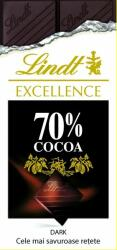 Lindt Excellence 70% cacao (ISBN: 9786066099745)