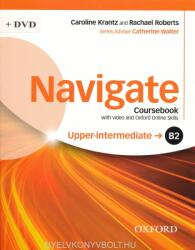 Navigate: B2 Upper-intermediate: Coursebook with DVD and Oxford Online Skills Program - collegium (ISBN: 9780194566759)