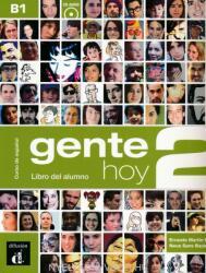 Gente hoy 2. Nivel B1. Libro del alumno + CD (ISBN: 9788415640370)