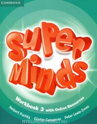 Super Minds Level 3 Workbook with Online Resources (ISBN: 9781107482999)