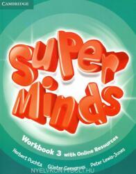 Super Minds Level 3 Workbook with Online Resources (ISBN: 9781107482999)