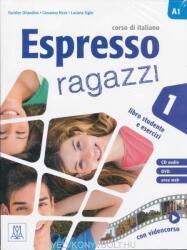 ESPRESSO RAGAZZI 1 AL + CD AUDIO + DVD - Orlandino Euridice, Ziglio Luciana, Rizzo Giovanna (ISBN: 9788861823976)