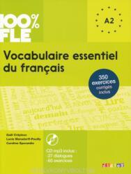Vocabulaire essentiel du francais A2 Livre avec CD Audio MP3 - 100 % FLE (ISBN: 9782278083404)