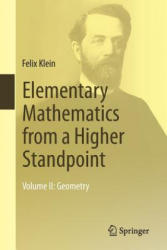 Elementary Mathematics from a Higher Standpoint: Volume II: Geometry (ISBN: 9783662494431)