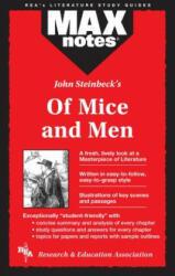 MAXnotes Literature Guides: Of Mice and Men - Joseph E Scalia (ISBN: 9780878919970)