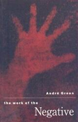 Work of the Negative - Andre Green (ISBN: 9781853434709)