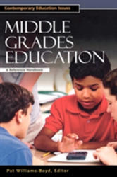 Middle Grades Education - A Reference Handbook (ISBN: 9781851095100)