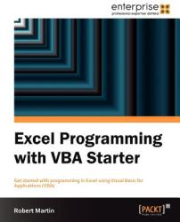 Excel Programming with VBA Starter (ISBN: 9781849688444)