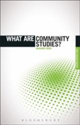 What are Community Studies? (ISBN: 9781849665957)