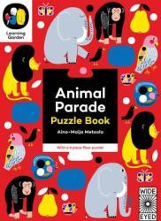 Animal Parade: Puzzle Book - With a 6 Piece Floor Puzzle! (ISBN: 9781847807779)
