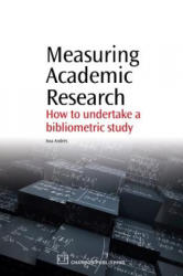 Measuring Academic Research (ISBN: 9781843345282)