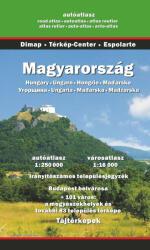 Magyarország autóatlasza 2017-2018 (ISBN: 9789630375764)