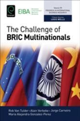 Challenge of Bric Multinationals (ISBN: 9781786353504)