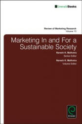 Marketing in and for a Sustainable Society (ISBN: 9781786352828)