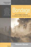Bondage - Alessandro Stanziani (ISBN: 9781785330353)