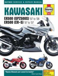 Kawasaki EX500 (GPZ500s) & ER500 (ER-5) Motorcycle Service and Repair Manual (ISBN: 9781785212932)