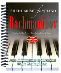Rachmaninov: Sheet Music for Piano - From Intermediate to Advanced; Over 25 Masterpieces (ISBN: 9781783614257)