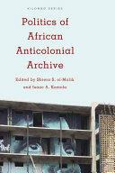 POLITICS OF THE AFRICAN ANTICOPB (ISBN: 9781783487905)