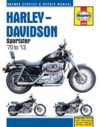 Harley Davidson Sportster Motorcycle Repair Manual (ISBN: 9781620922262)